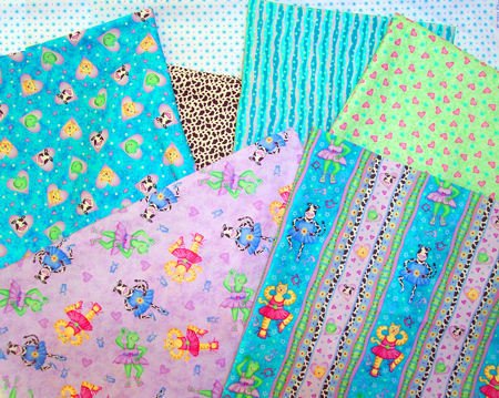 Phyllis Dobbs Sweetheart Ballerinas fabric stash