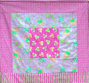 Sweetheart Ballerinas fabric from Quilting Treasures by Phyllis Dobbs