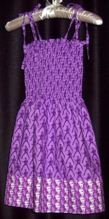 Sundress made with Elvis Fabric
