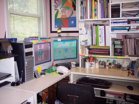 Phyllis Dobbs artist studio