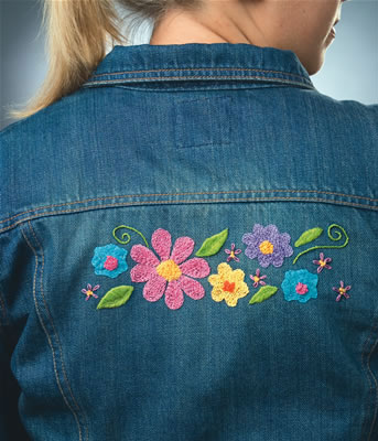Garden Delights Denimbroidery Kit