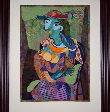 Picasso Art Quilt