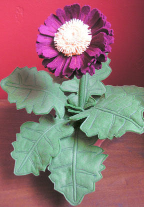 Gerber Daisy Flower Sculpture