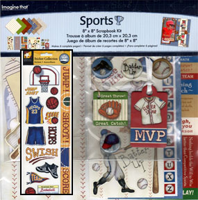 Sports Scrapbook Kit