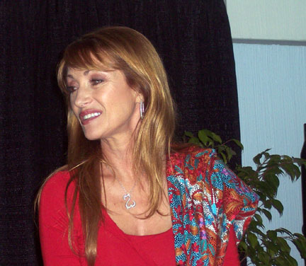 Jane Seymour at CHA Booksigning