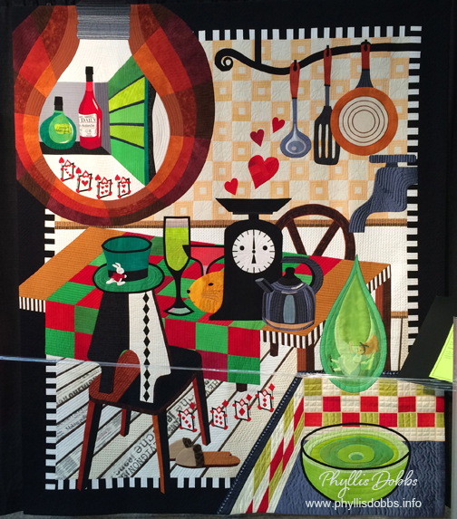 Alices Kitchen Miki Murakan Quilt