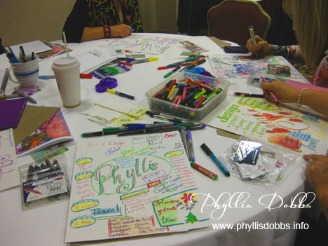 Art journaling class with Traci Bautista