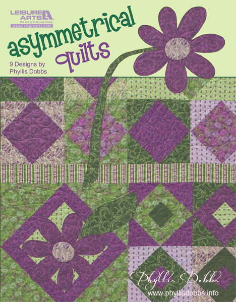 Asymmetrical Quilts book by Phyllis Dobbs