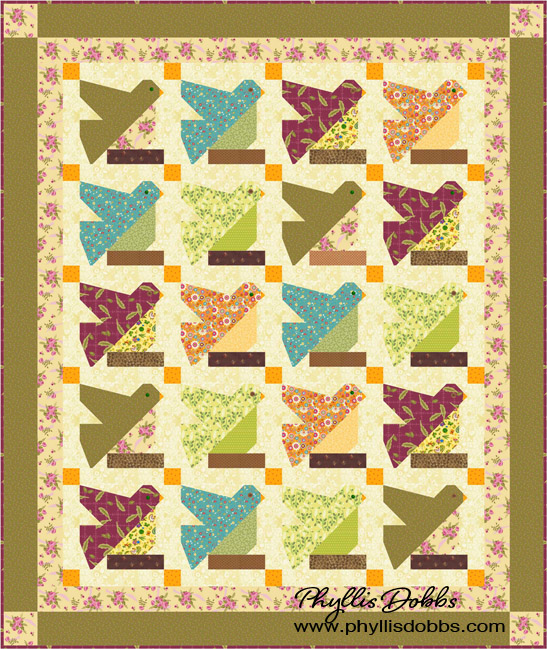 Bird on a Limb Quilt Pattern