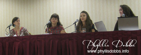 BlogHer Panel presenters