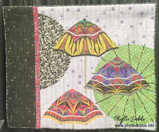 Bohemian III Rain quilt
