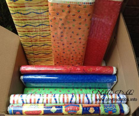 Celebrate fabrics by Phyllis Dobbs