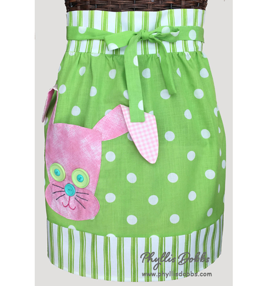 Easter Bunny apron pattern