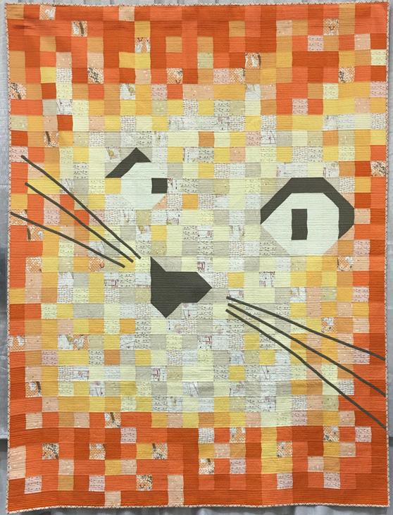 Cat Face Quilt