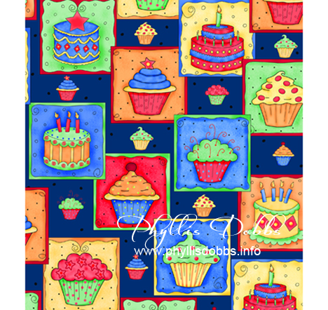 Celebrate fabric collection from Quilting Treasures by Phyllis Dobbs