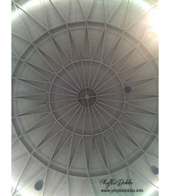 Minneapolis convention center dome ceiling