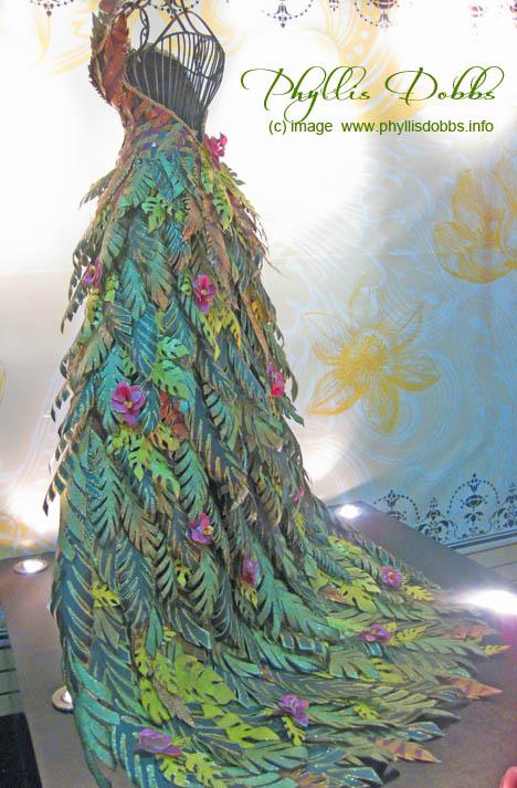 DCWV paper dress