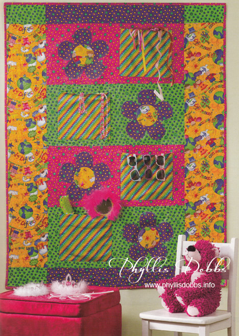 Daisy Pocket Quilt by Phyllis Dobbs for House of White Birches