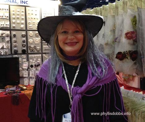 Debi Schmitz at Quilt Market