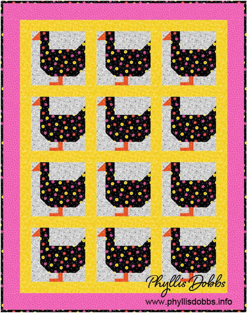 Ducks a Waddling Quilt Pattern