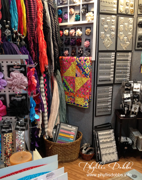 Expo International booth at Houston Quilt Market