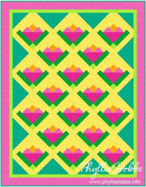 Quilt Pattern Garden Glory