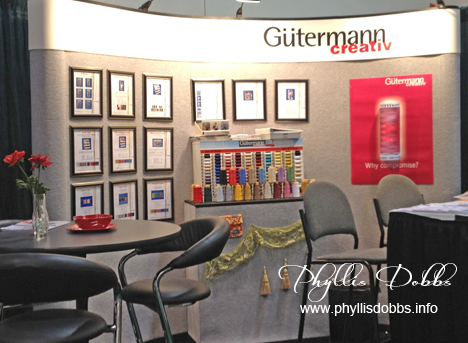 Gutermann booth at CHA winter show