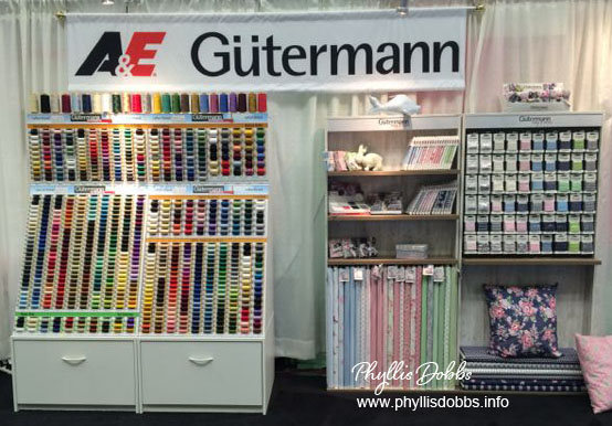 Gutterman Thread Quilt Market