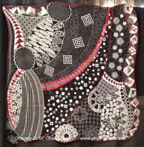 In my mind quilt at Houston Quilt Market