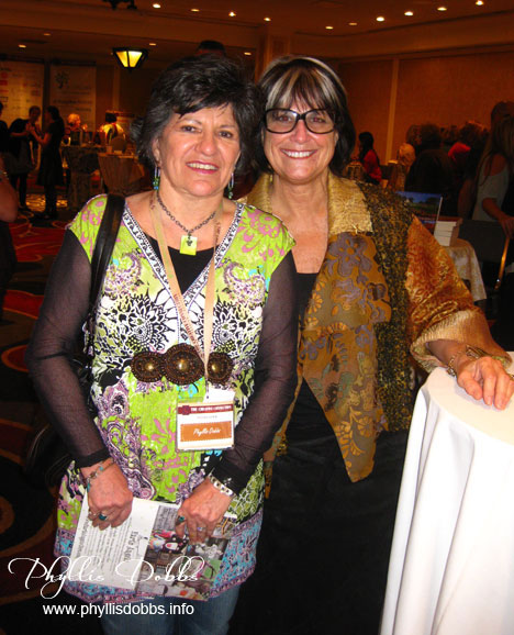 Jo Packham and Phyllis Dobbs