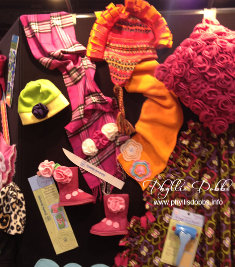 June Tailor booth with new products at CHA