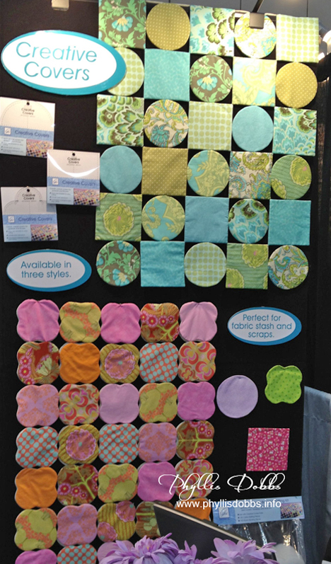 June Tailor Creative Covers at Quilt Market