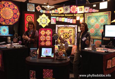 Kaleidoscope Kreator Software at Quilt Market