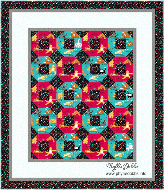 Kitty Workout Quilt