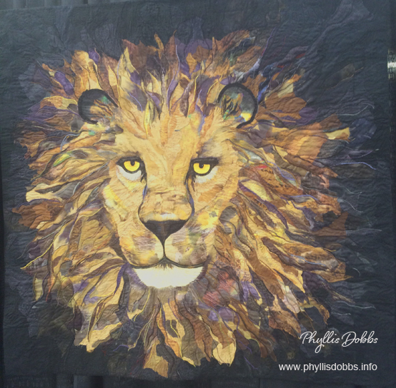 award winning quilts – Phyllis Dobbs Blog : lion quilt pattern - Adamdwight.com