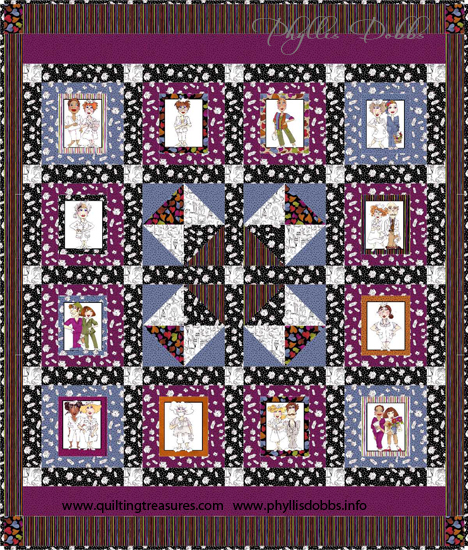 Loralie Nurse Central quilt