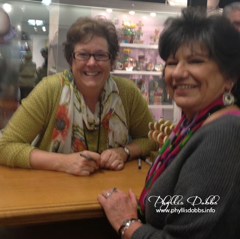 Lori Siebert and Phyllis Dobbs at Atlanta Gift Market
