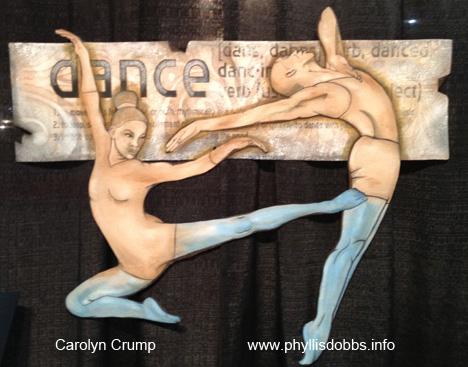 Mae's Dance quilt by Carolyn Crump