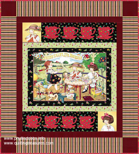 Mary Engelbreit Free Quilt Pattern from Quilting Treasures