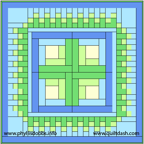 Irish quilt pattern