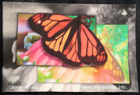 Monarch Butterfly quilt Gloria Hansen