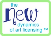 New Dynamics of Art Licensing Logo