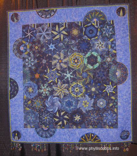 New York City Lights Quilt by Ellen Yamaguchi at Houston Quilt Market
