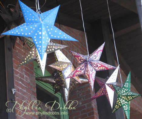 Star lanterns Olvera Street