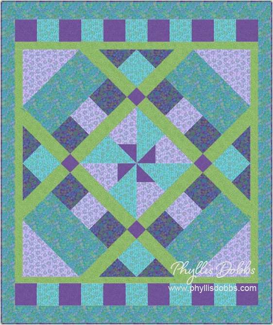 Windmill Quilt Pattern