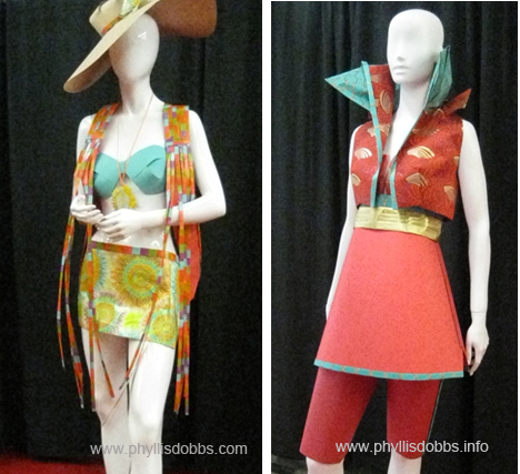 2 dresses from Paper Runway