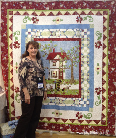 Pearl Louise at Houston Quilt Market