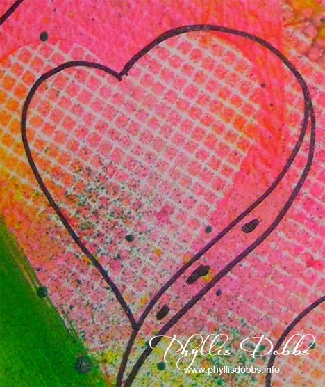 Phyllis Dobbs Heart doodle