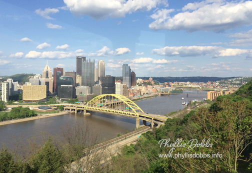 Pittsburgh View Phyllis Dobbs