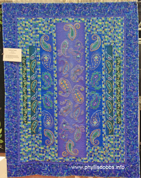 Quilt Positively Paisley Quilt Market